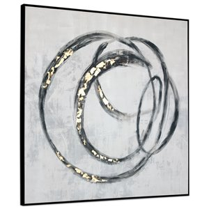 Gild Design House Circulo Wall Art Decor -  46-in x 46-in