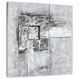 Toile murale Jeter des ombres Gild Design House, 40 po x 40 po