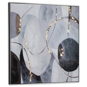 Gild Design House Graphite Wall Art Decor - 40-in x 40-in