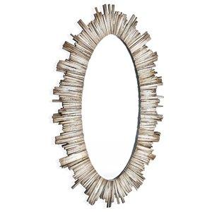 Gild Design House Diya Mirror - Oval - 30-in x 50-in