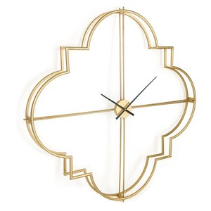 Gild Design House Morrissey Wall Clock - Gold - 49-in x 49-in