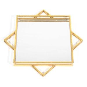 Gild Design House Parri Gold Mirror - 24-in x 24-in