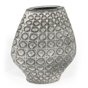 Vase de table en céramique Gild Design House Palmer, 11 po
