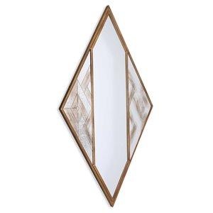 Miroir Selles Gild Design House, bronze, 38 po x 20 po