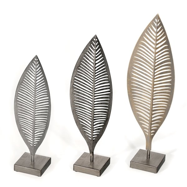 Gild Design house Parnika Decoratives Leaves - Set of 3