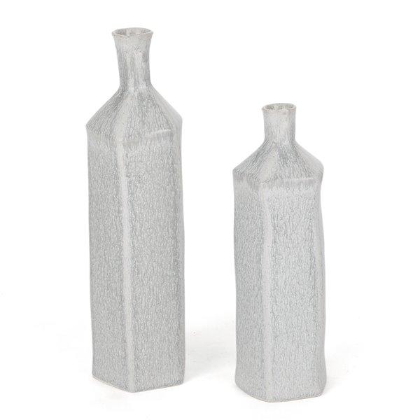 Gild Design House Cora Ceramic Table Vase - 15-in