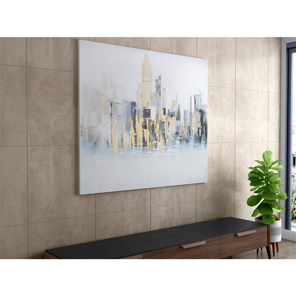 Gild Design House Concrete Jungle Wall Art Decor - 40-in x 60-in