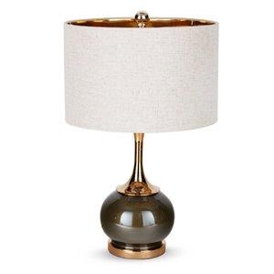 Lampe de table Diego Gild Design House, 23 po