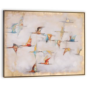 Gild Design House Heading South Wall Art Decor - 41-in x 49-in