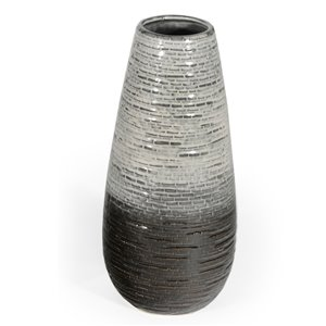 Gild Design House Kadi Ceramic Table Vase - 17-in