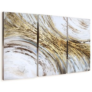 Gild Design House Indroduction Wall Art Decor - 44-in x 60-in - Set of 3