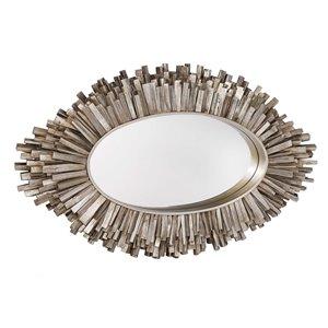 Gild Design House Quinlynn Mirror - Antique Silver - 30-in x 50-in