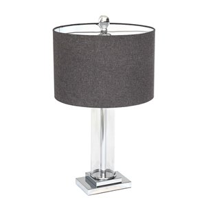 Gild Design House Titus Table Lamp - Gray - 26-in