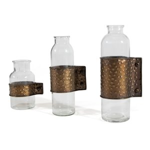 Gild Design House Garrett Decoratives Vases - Set of 3