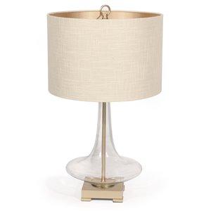 Lampe de table Edith Gild Design House or, 26 po