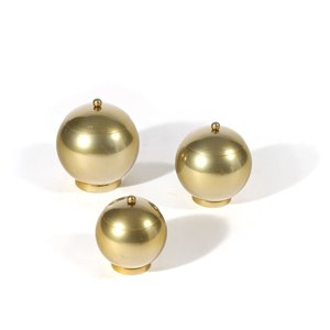 Gild Design House Eseld Decorative Urn - Gold - Set of 3