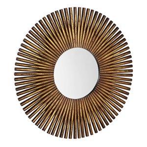 Gild Design House Carter Mirror - Bronze - 40-in x 40-in