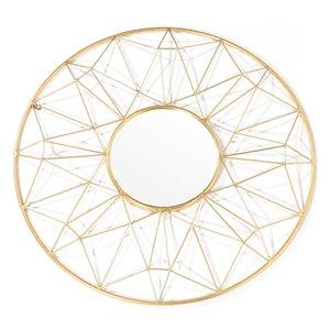 Gild Design House Hana Metal Mirror - 32-in x 32-in