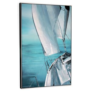 Gild Design House Sail Away Wall Art Decor -  48-in x 32-in