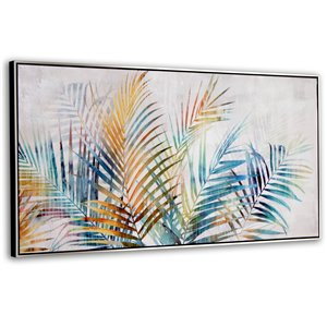 Gild Design House Vibrant Palm Wall Art Decor - 24-in x 48-in