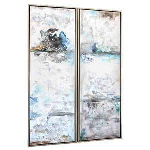 Gild Design House Forecast Wall Art Decor - 72-in x 48-in - Set of 2