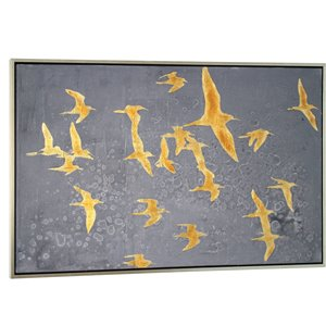 Gild Design House Migration Wall Art Decor - 38-in x 60-in