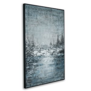 Gild Design House Frosted Brook Wall Art Decor - 60-in x 40-in