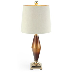 Gild Design HouseBeckett Table Lamp - Brushed Gold - 33-in