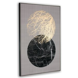 Gild Design House Lunar Wall Art Decor - 48-in x 32-in