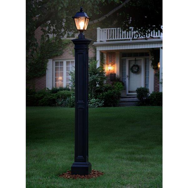 Mayne Liberty Decorative Post for Post Light - Black
