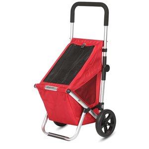 Playmarket Go Fun Shopping Trolley- Red