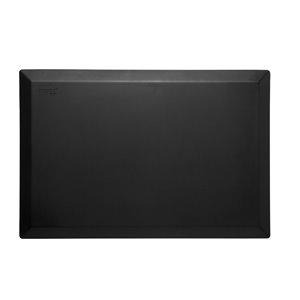 Tapis de série solide d'Imprint Comfort Mats, noir, 24 po x 36 po x 3/4 po
