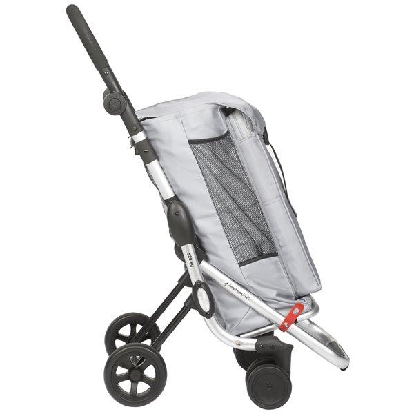 "Chariot de magasinage ""GO UP"" de Playmarket, cadre en aluminium, rouge"