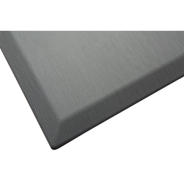 Imprint Comfort Mat CumulusPro Couture Series Carpet - 24-in x 36-in x 3/4-in - Slate Grey