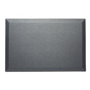 Tapis de série couture d'Imprint Comfort Mats, gris, 24 po x 36 po x 3/4 po