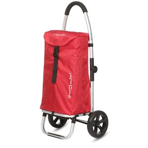 "Chariot de magasinage ""GO TWO COMPACT"" de Playmarket, rouge"