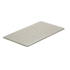 Tapis de série chevron d'Imprint Comfort Mats, beige,  20 po x 36 po x 5/8 po