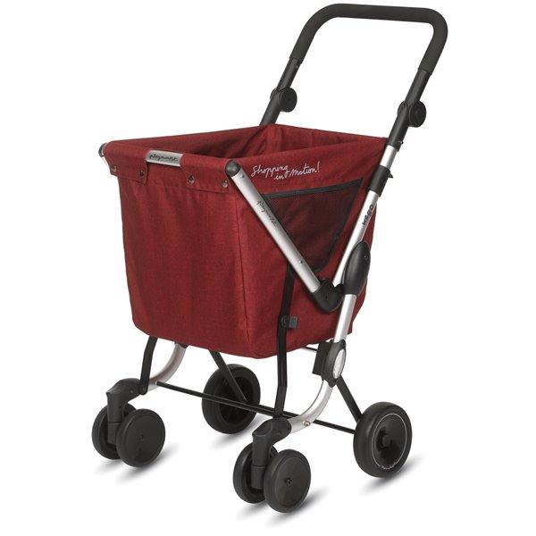 """Chariot de magasinage """"WE GO"""" de Playmarket, , 4 roues, lolly pop"""