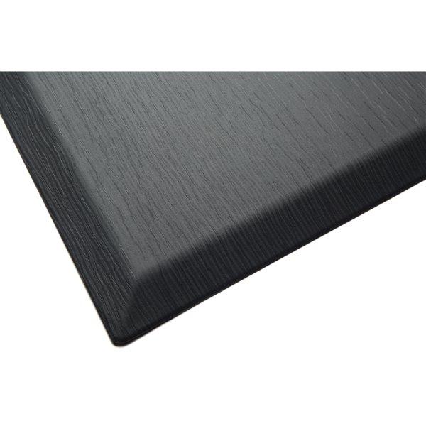 Imprint Comfort Mat CumulusPro Couture Series Carpet - 24-in x 36-in x 3/4-in - Black Jasper