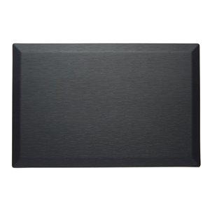Tapis de série couture d'Imprint Comfort Mats, noir,  24 po x 36 po x 3/4 po