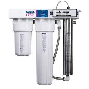 Système de filtre à eau de ligne principale Rainfresh