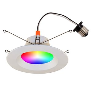 BAZZ Smart Wi-Fi LED Recessed Light Conversion Kit - 6-in