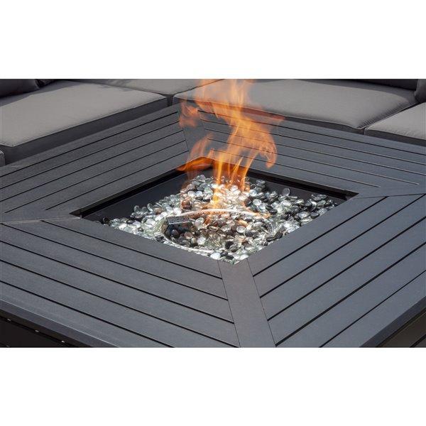 Brûleur pour foyer Paramount convertible carré, 50,000 BTU, 18 po x 18 po