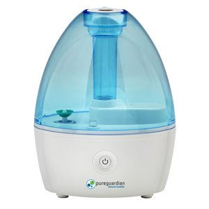 Humidificateur ultrasonique Cool Mist H910BL de PureGuardian, 14 heures