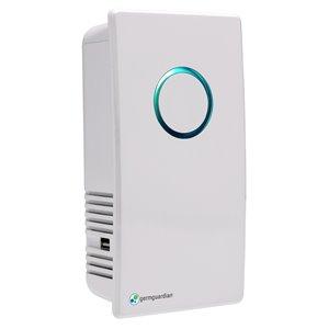 Désodorisant et assainisseur d'air enfichable GermGuardian Elite UV-C, blanc