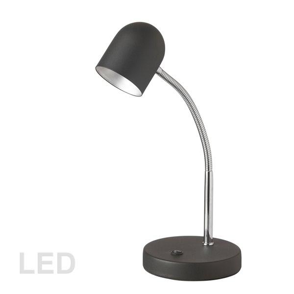 Dainolite Signature Desk Lamp - LED Light -  13.8-in - Black