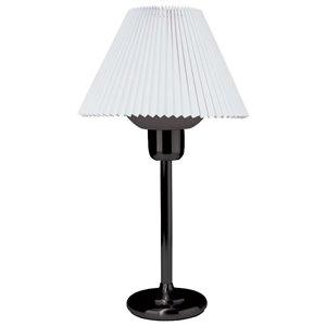 Lampe de table Signature de Dainolite, 1 lumière, 25 po, noir