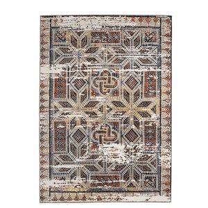 Tapis marocain vintage de Viana, 8 pi 3 po x 10 pi, multicolore