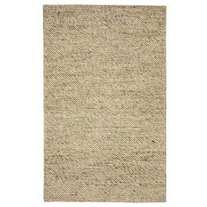 Viana Modern Handmade Chunky Wool Rug -5-ft 3-in x 7-ft 6-in - Marble