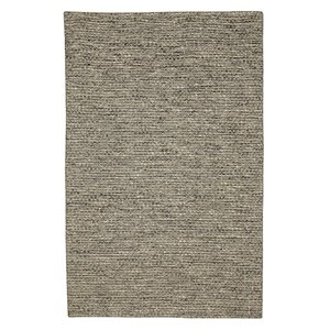 Viana Hand Made Reversible Wool Rug - 8-ft 3-in x 10-ft - Natural Brown